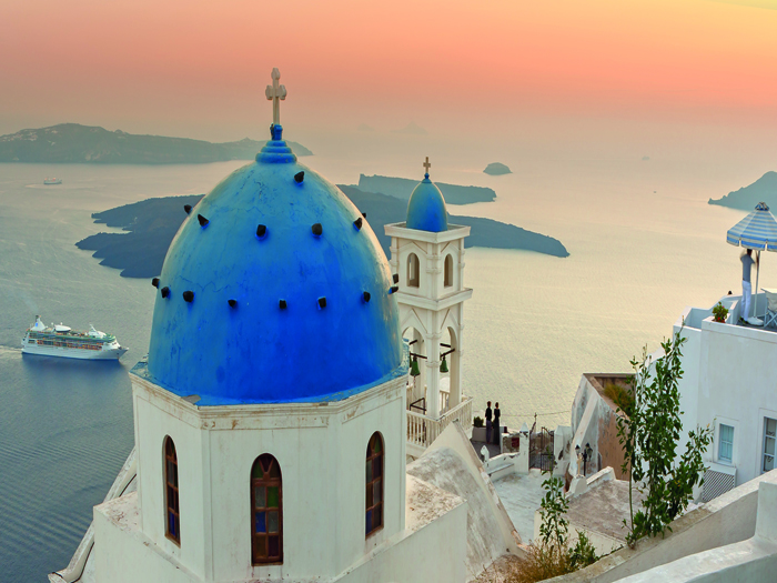Featured Image for How to plan a honeymoon in Santorini from Scotland
