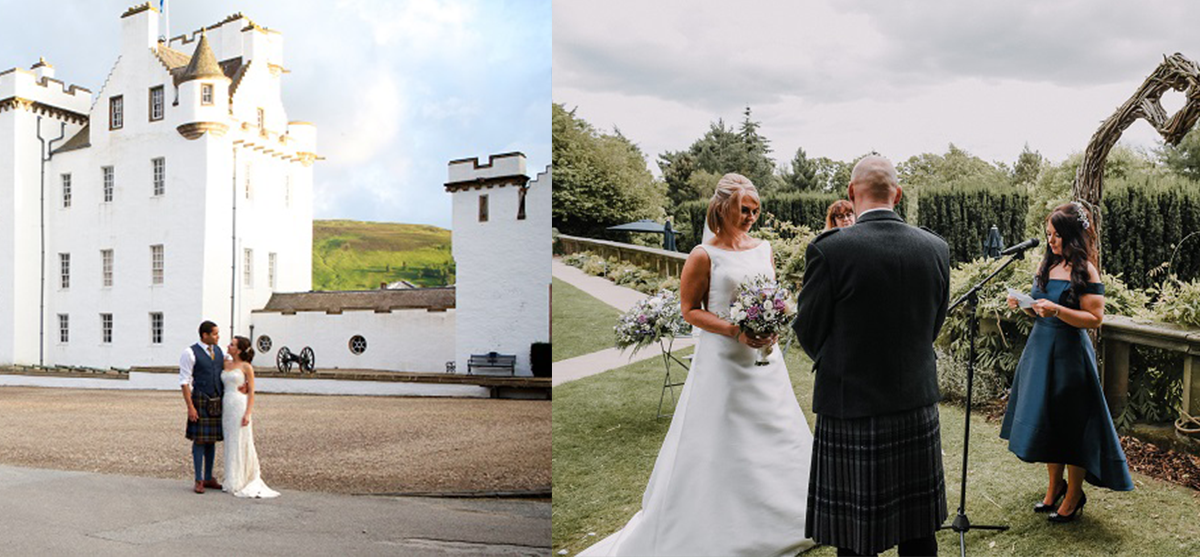 Featured Image for 23 Scottish wedding venues with beautiful outdoor spaces 2018