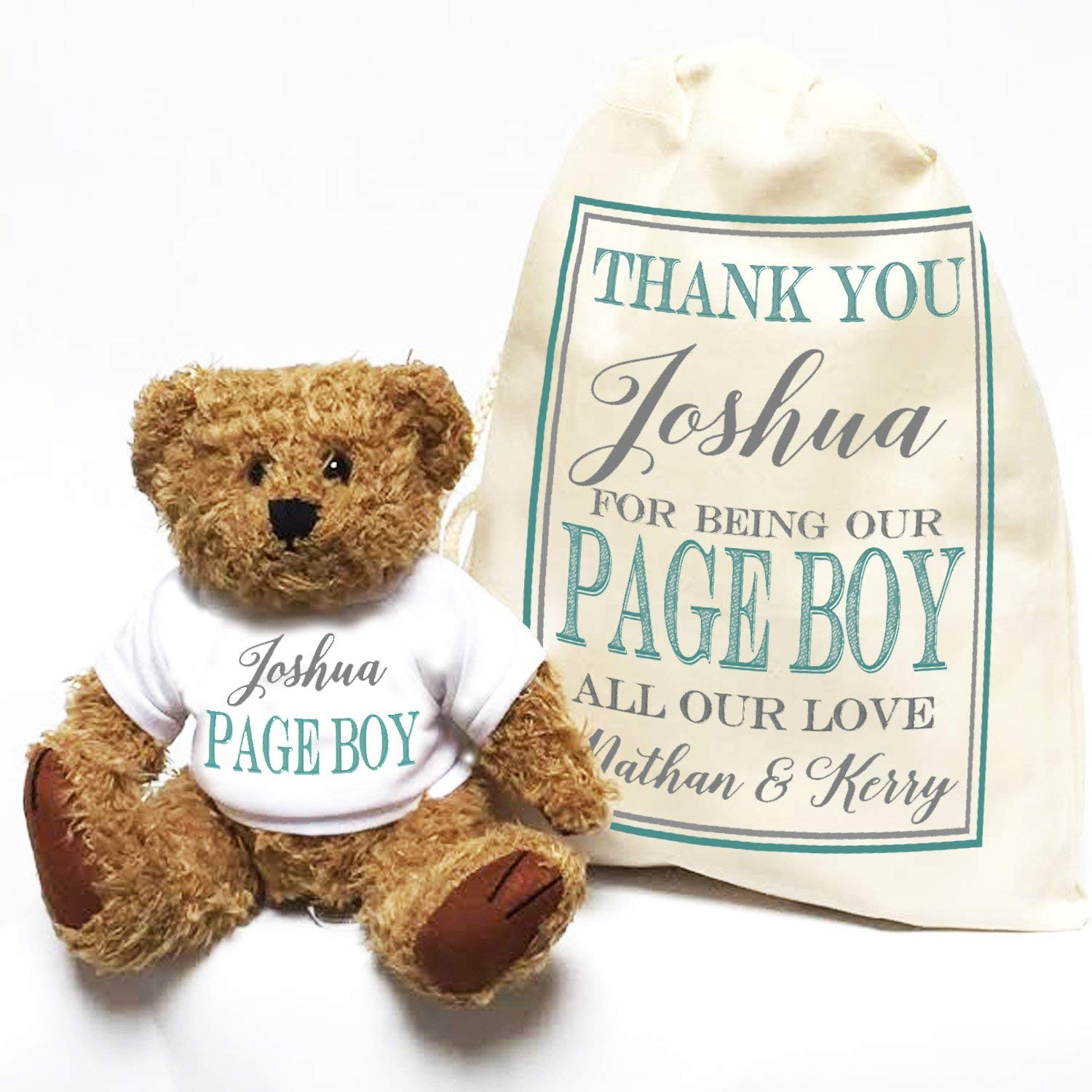 WEDDING PARTY GIFTS PAGE BOY TEDDY
