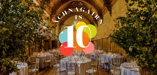 Featured Image for Achnagairn Castle is turning 10, and they're giving *you* gifts to celebrate!