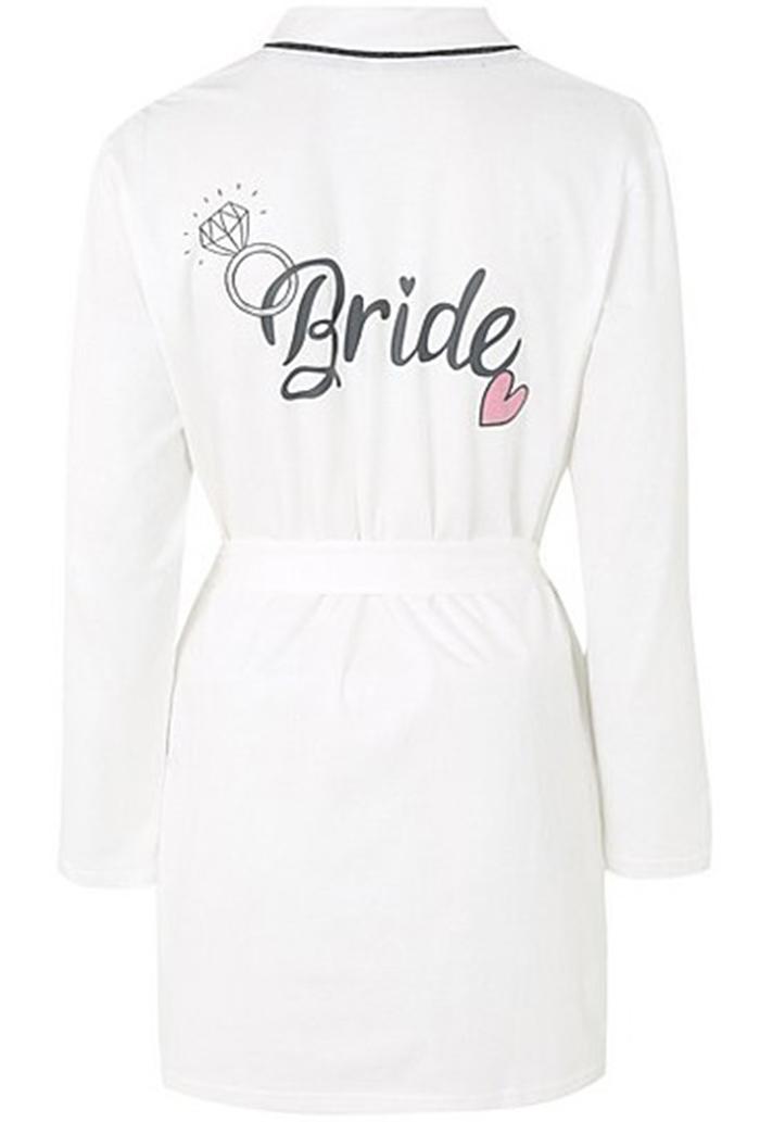 Stylish bride and bridesmaid dressing gowns Asda Bride