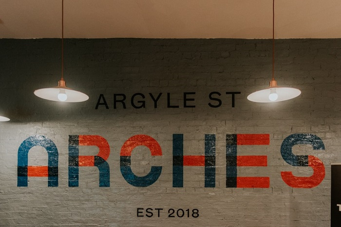 Argyle St Arches weddings 2018