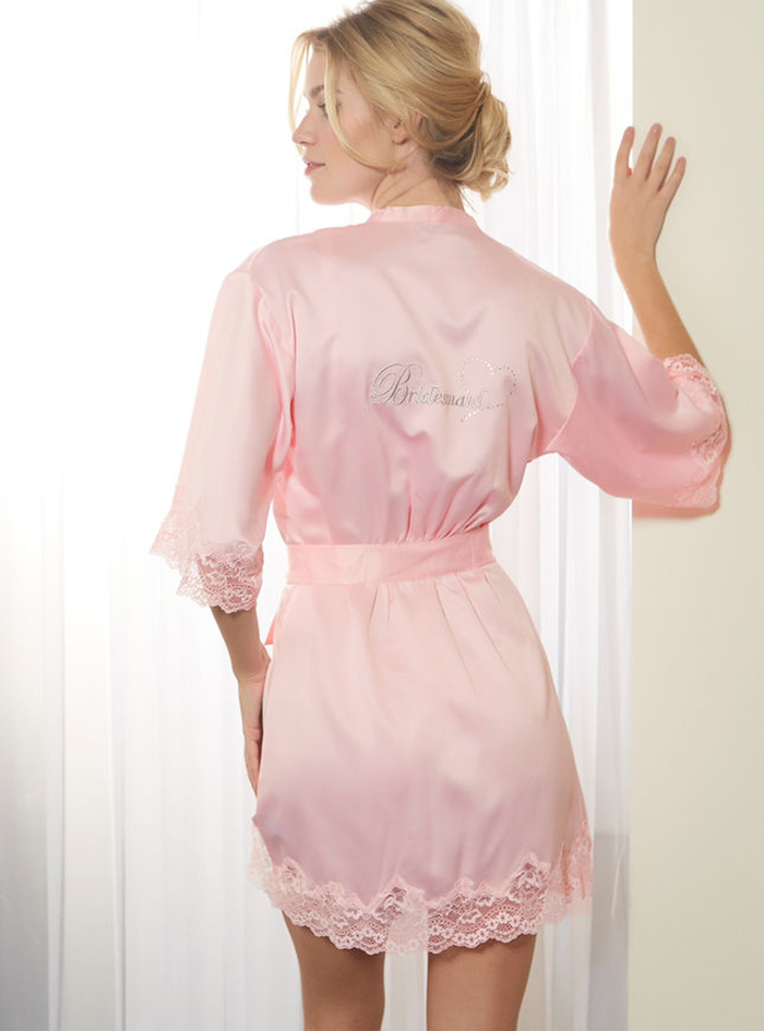 Stylish bride and bridesmaid dressing gowns Debenhams mother of the bride Ted Baker
