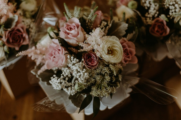 Featured Image for A-Z of wedding flowers