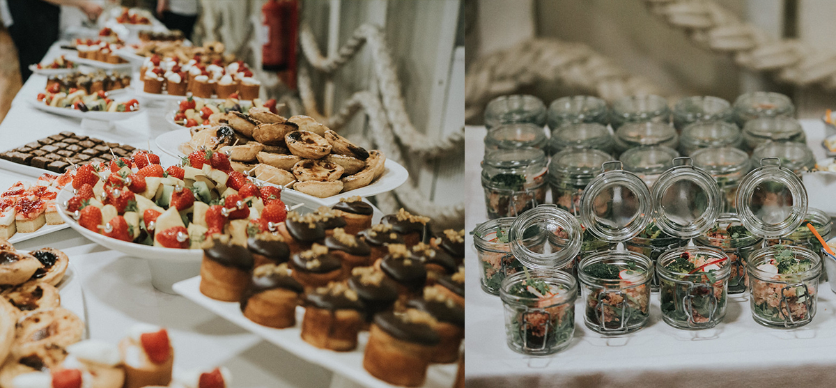 Featured Image for Get creative with your wedding menu with En Croute Catering