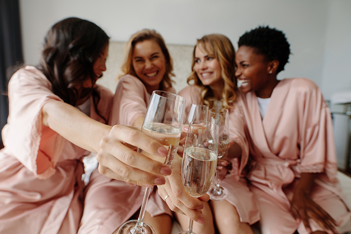 wedding party gifts bridesmaids celebrate
