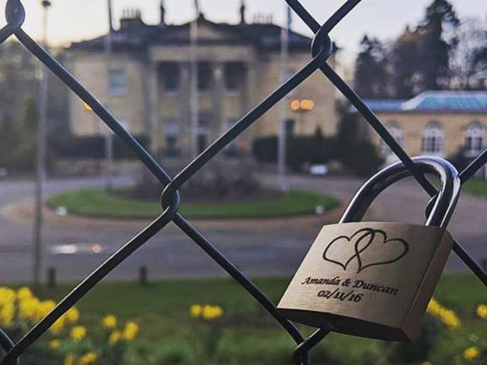 Featured Image for You can now add your own love lock at *this* Scottish wedding venue...