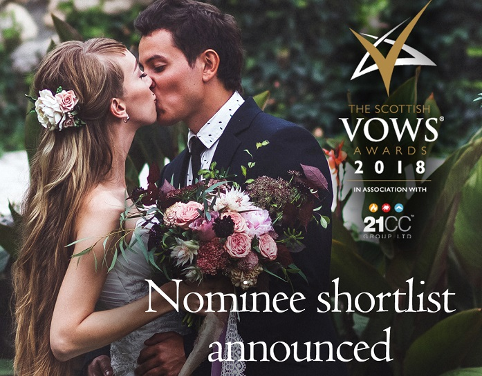 Featured Image for The Scottish VOWS Awards 2018 nominees announced!