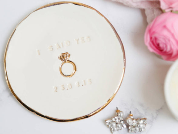 Featured Image for 16 cute ring trinket dishes for your wedding and engagement rings