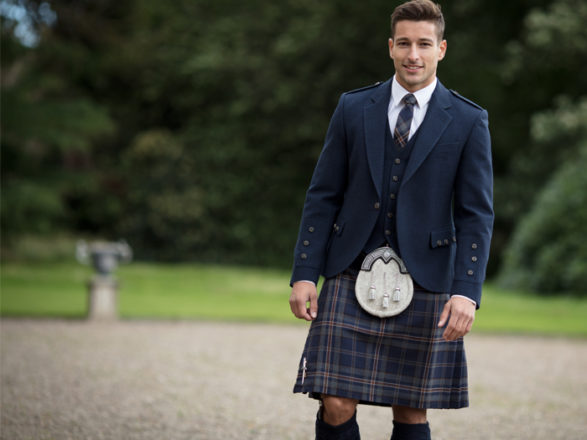 Featured Image for On-trend tartan: which tartan to wear on your wedding day