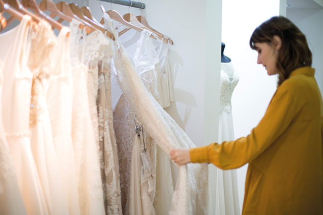 Featured Image for Laura's Bride Diary: Laura goes wedding dress shopping