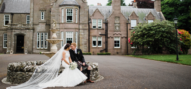 Featured Image for Celebrate your day at five-star exclusive-use wedding venue Turin Castle, Angus