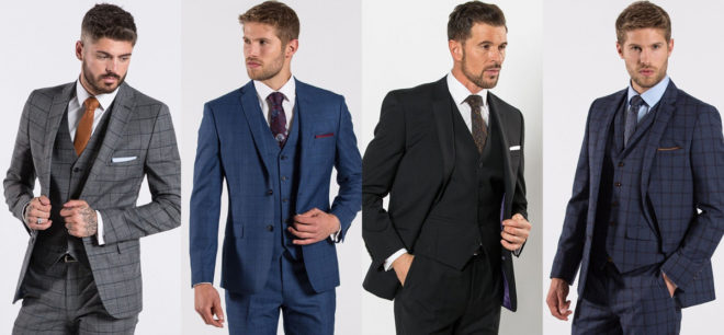Featured Image for Check out our fave Slater Menswear suits for your winter wedding!