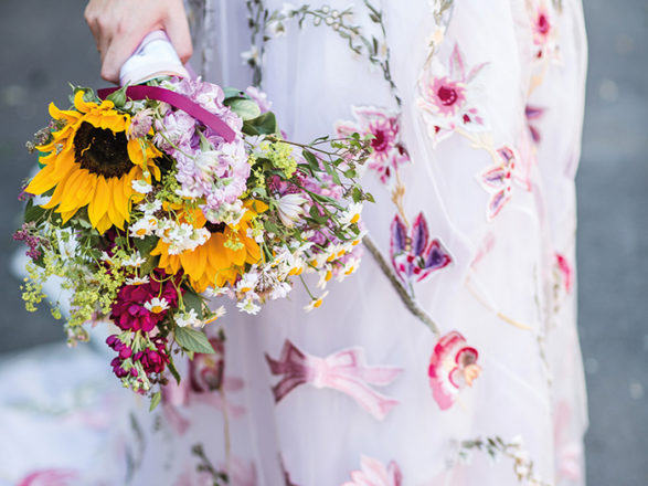 Featured Image for What *this* Scottish bridal expert wore to her wedding day