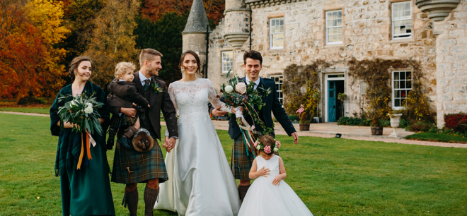 Featured Image for Get swept up in the romance of this gorgeous styled shoot at Wardhill Castle, Inverurie