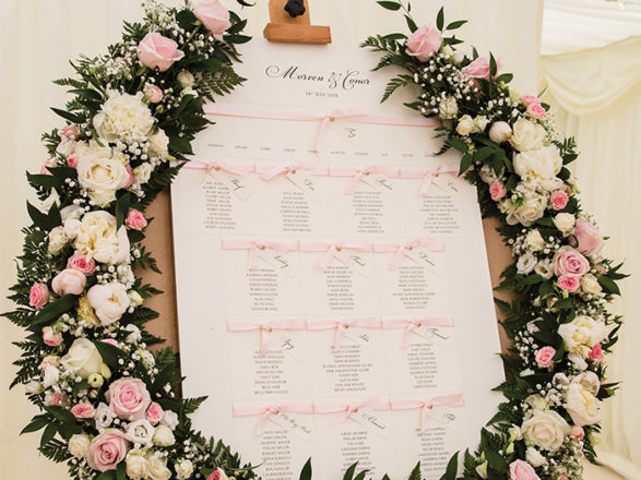 Featured Image for How to make your wedding flowers *the* theme for your wedding day decor