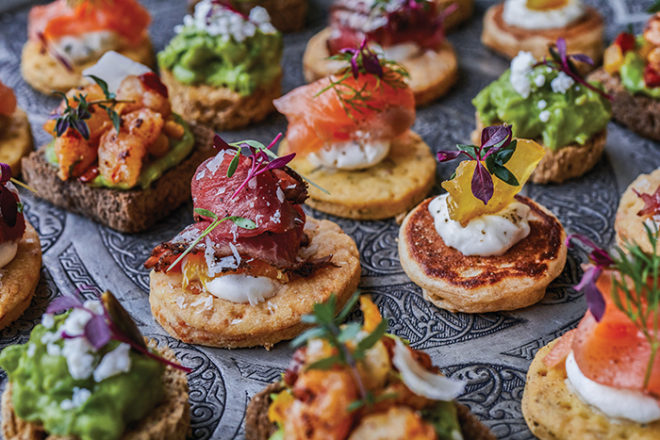 Featured Image for Eat up: The biggest wedding catering trends for 2019