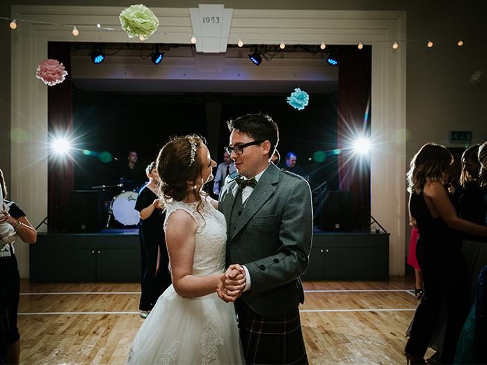 Featured Image for Laid-back pastel toned wedding at Killearn Village Hall, near Glasgow