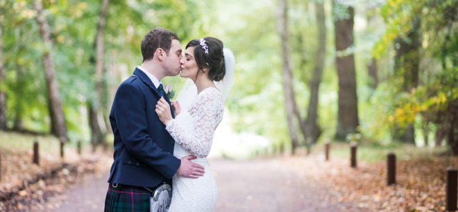 Featured Image for Classic, autumnal wedding day at Balbirnie House Hotel, Markinch