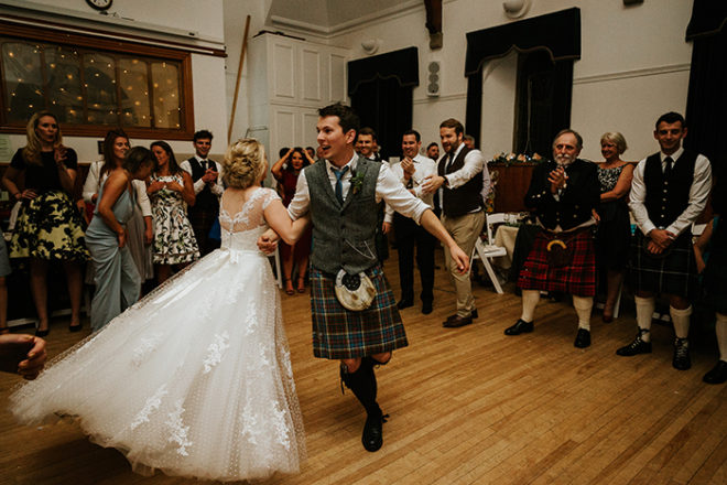 Featured Image for Ask a wedding musician: Should we have a ceilidh at our Scottish wedding?