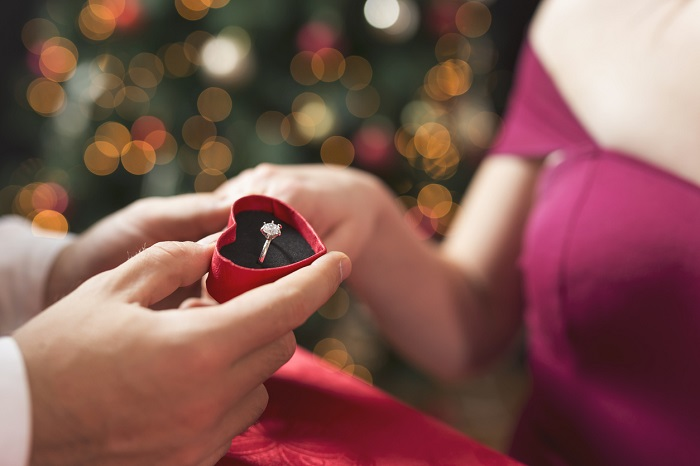 How to propose at Christmas