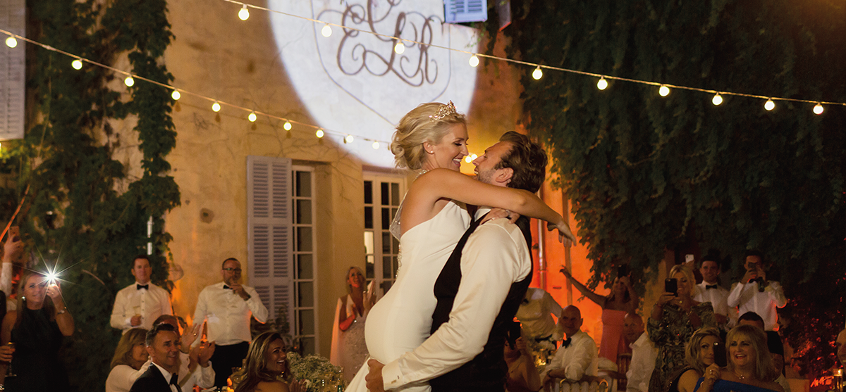 Featured Image for Former Miss Scotland Ellie + rugby player Richie Gray's fairytale wedding in France