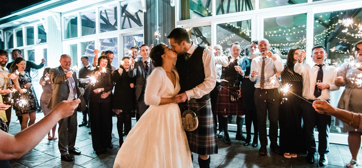 Featured Image for Doric inspired wedding day at The Barn @ Barra Castle, Inverurie