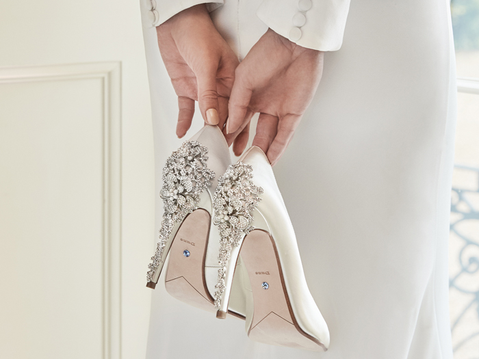 Featured Image for Dune's wedding shoes for SS19 have arrived - and there are styles for brides AND grooms!