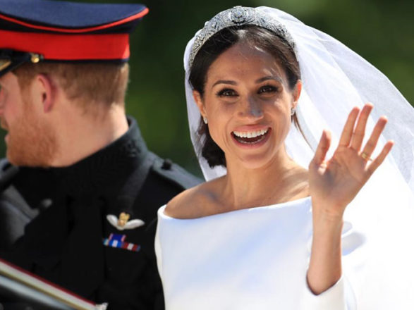 Featured Image for Make-up artist favourite products to create Meghan Markle's big day beauty