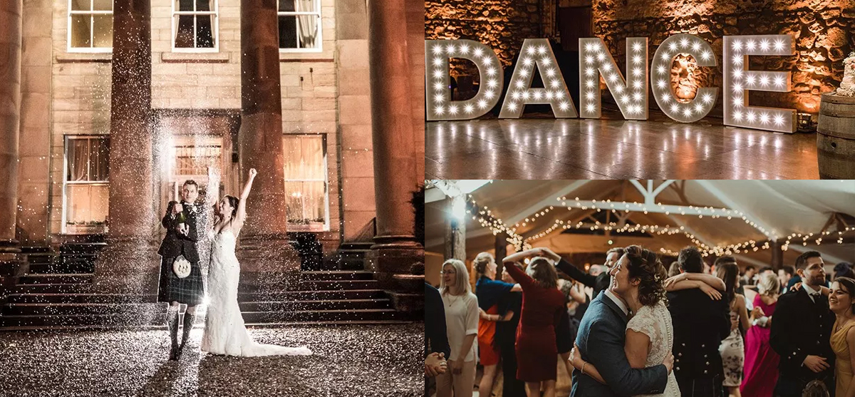 Featured Image for 25 of the best party-perfect wedding venues in Scotland 2019