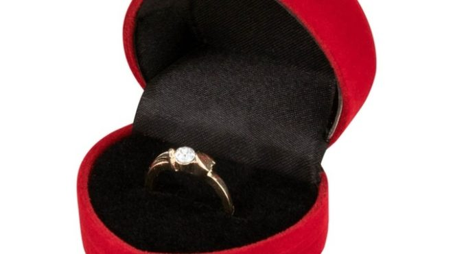 Featured Image for Would you say yes to a Poundland engagement ring?