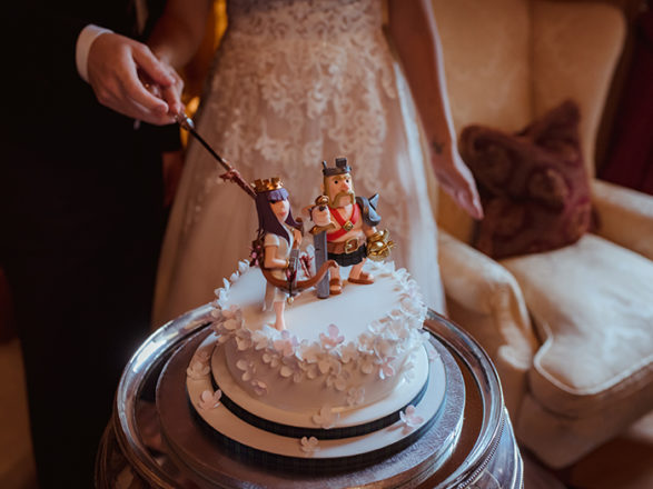 "Featured Image for ""Our cake toppers were our favourite video game characters!"""