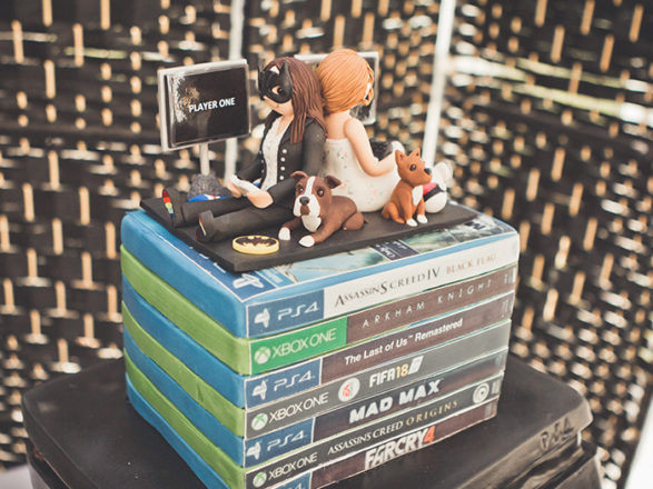 "Featured Image for ""We had a gamer girl wedding cake!"""