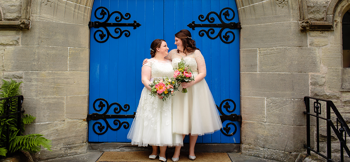 Featured Image for Bright + colourful wedding day with beautiful DIY touches at Killearn Village Hall, near Loch Lomond