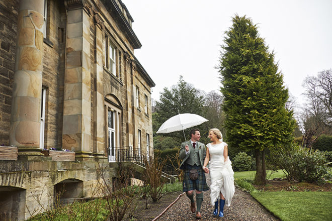 Featured Image for Gorgeous Easter weekend wedding day at Balbirnie House Hotel, Fife