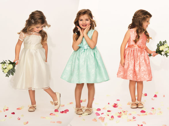 Featured Image for This Scottish retailer has just launched the cutest collection of flowergirl dresses