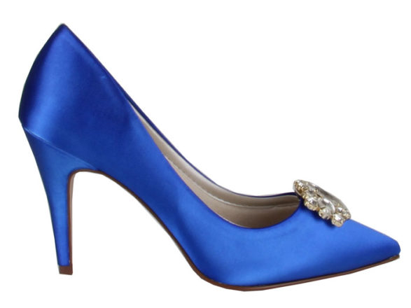 Featured Image for We've found a designer dupe for Carrie Bradshaw's Manolo Blahnik Hangisi wedding shoes