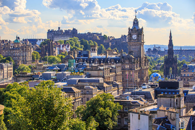 Featured Image for Edinburgh named as the UK's most romantic place to propose