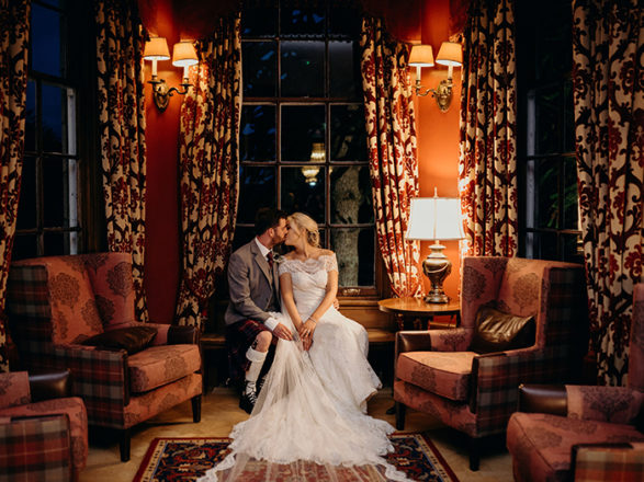 Featured Image for Dreamy + romantic wedding day at Macdonald Pittodrie House, Inverurie
