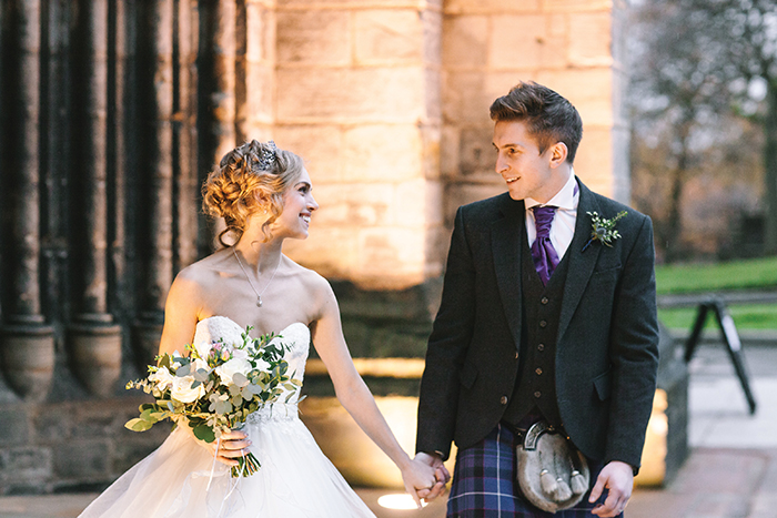 Featured Image for Scottish Ballet star Bethany Kingsley-Garner's wedding at The People's Palace, Glasgow
