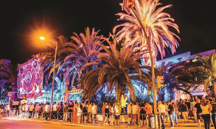 Hen do in San Antonio Ibiza