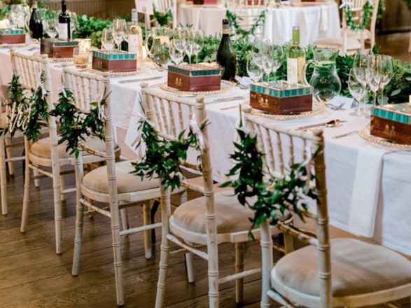 Featured Image for How to use flower garlands in your Scottish wedding
