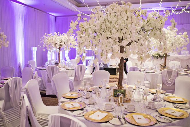 Featured Image for All in the details: Creating a glamorous wonderland wedding day theme
