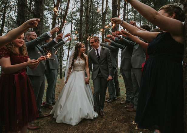 Featured Image for Creative DIY wedding day at The Log Cabin Ravensheugh, Tyninghame