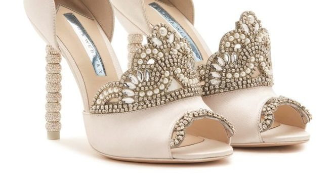 Featured Image for Are these the most extra bridal shoes you'll see this year? We think so!