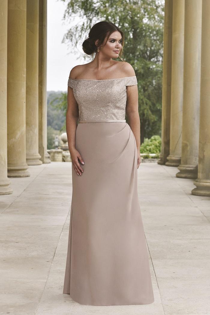 True Bride bridesmaid dress