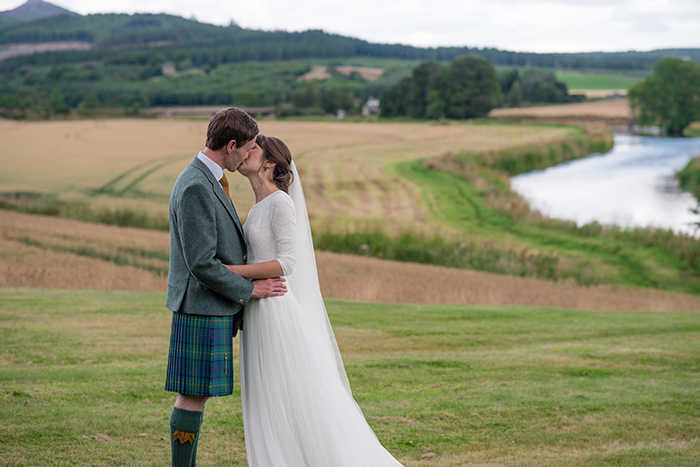 Featured Image for Scottish countryside celebrations at Ballogie House, Aboyne