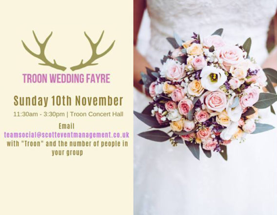 Featured Image for Troon Wedding Fayre