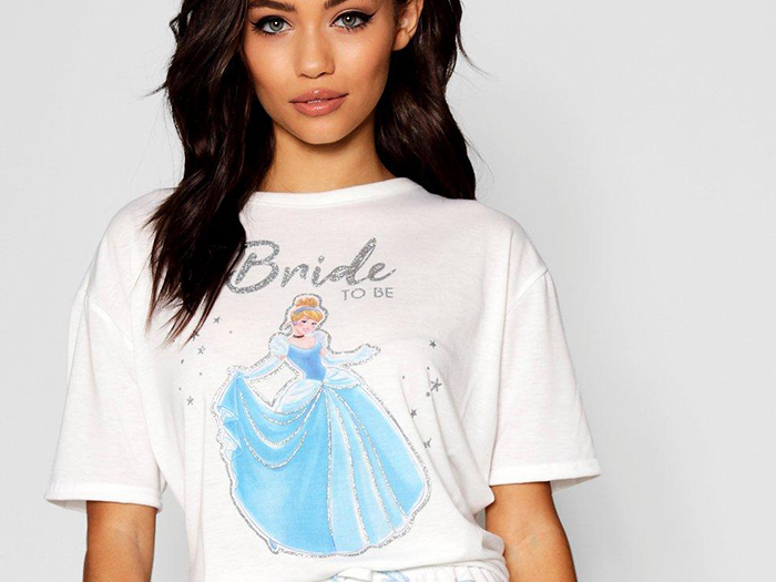 Featured Image for Have you seen Boohoo's Disney Bride Squad jammies yet?