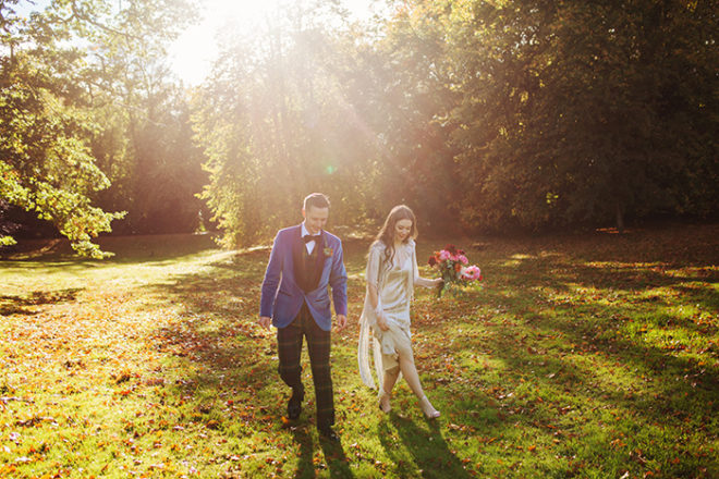 Featured Image for Autumnal wedding day with woodland features at Pitcalzean House, Tain